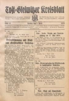 Tost-Gleiwitzer Kreisblatt, 1938, St. 13