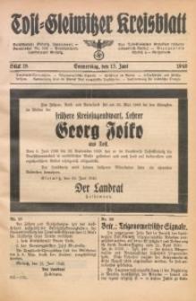 Tost-Gleiwitzer Kreisblatt, 1940, St. 18