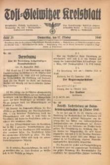 Tost-Gleiwitzer Kreisblatt, 1940, St. 28