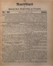 Amts-Blatt der Königlichen Regierung zu Liegnitz, 1908, Jg. 98, Nr. 36