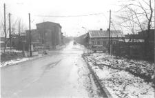 Ulica Jana Pawła II w Piekarach Śląskich w latach 70/80 XX wieku