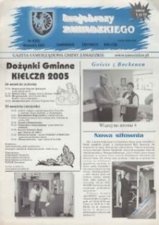 Krajobrazy Zawadzkiego : gazeta samorządowa gminy Zawadzkie : Zawadzkie, Żędowice, Kielcza 2005, nr 9 (83).