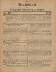 Amts-Blatt der Königlichen Regierung zu Liegnitz, 1911, Jg. 101, Nr. 19