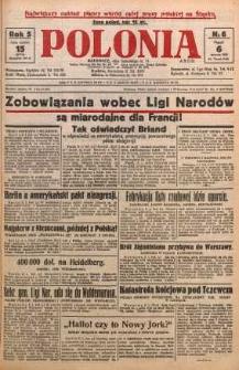 Polonia, 1928, R. 5, nr 6