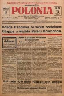 Polonia, 1928, R. 5, nr 14