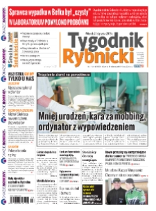 Tygodnik Rybnicki : Czerwionka-Leszczyny, Lyski, Gaszowice, Jejkowice, Świerklany. R. 10, nr 3 (428).