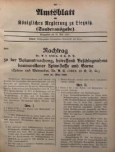 Amts-Blatt der Königlichen Regierung zu Liegnitz, 1916, Jg. 106, Nr. 19a