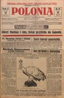 Polonia, 1928, R. 5, nr 17