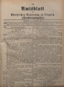 Amts-Blatt der Königlichen Regierung zu Liegnitz, Sonderausgabe am 12. Dezember 1916
