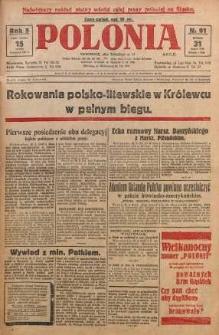 Polonia, 1928, R. 5, nr 91