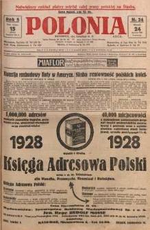 Polonia, 1928, R. 5, nr 24