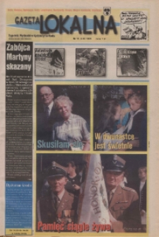 Gazeta Lokalna 1999, nr 15.