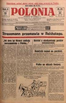 Polonia, 1928, R. 5, nr 31
