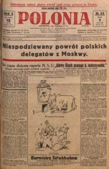 Polonia, 1928, R. 5, nr 32