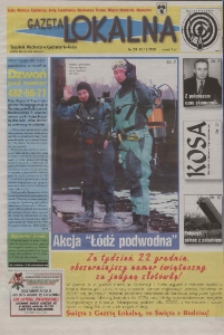 Gazeta Lokalna 1999, nr 29.
