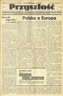 Przyszłość, 1934, R. 1, nr 30