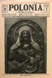 Polonia, 1928, R. 5, nr 36
