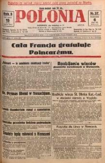 Polonia, 1928, R. 5, nr 37