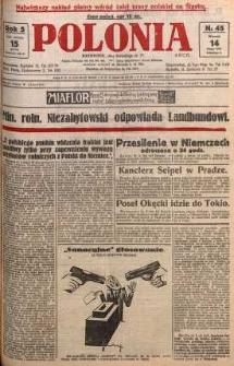 Polonia, 1928, R. 5, nr 45