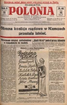 Polonia, 1928, R. 5, nr 46