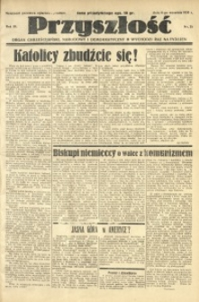 Przyszłość, 1936, R. 3, nr 35
