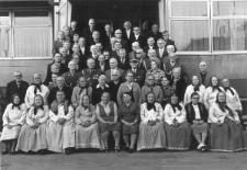 Członkowie Związku Bojowników o Wolność i Demokrację (ZBoWiD) z Brzozowic-Kamienia
