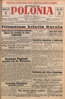 Polonia, 1928, R. 5, nr 75