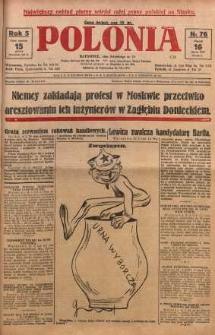 Polonia, 1928, R. 5, nr 76