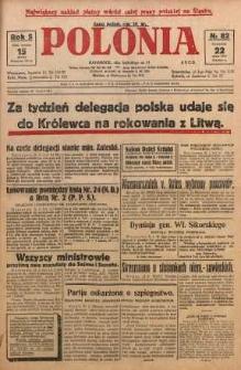 Polonia, 1928, R. 5, nr 82