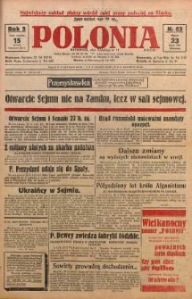 Polonia, 1928, R. 5, nr 83