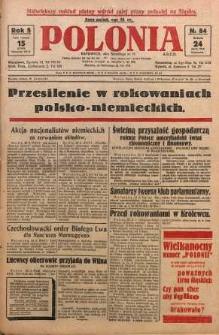 Polonia, 1928, R. 5, nr 84