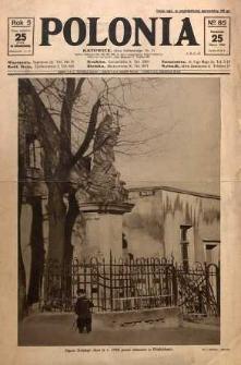 Polonia, 1928, R. 5, nr 85