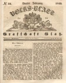 Volks-Blatt für die Grafschaft Glatz, 1843, Jg. 4, No. 34