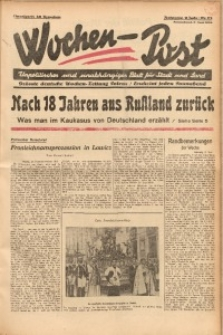 Wochen-Post, 1934, Jg. 6, Nr. 23