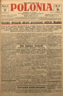 Polonia, 1927, R. 4, nr 11