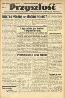 Przyszłość, 1937, R. 4, nr 11