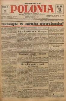 Polonia, 1927, R. 4, nr 14