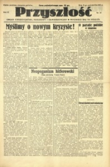 Przyszłość, 1937, R. 4, nr 43