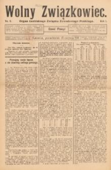 Wolny Związkowiec, 1914, R. 1, nr 9