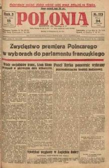 Polonia, 1928, R. 5, nr 113