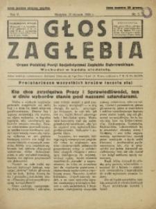Głos Zagłębia, 1928, R. 5, nr 3