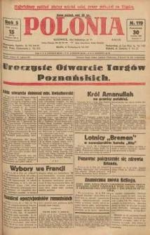 Polonia, 1928, R. 5, nr 119