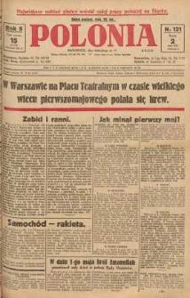 Polonia, 1928, R. 5, nr 121