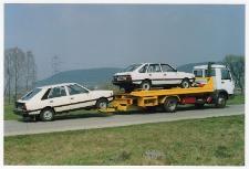 Laweta do przewożenia uszkodzonych samochodów