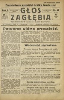 Głos Zagłębia, 1928, R. 5, nr 42