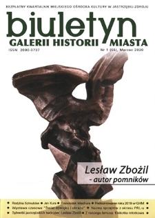 Biuletyn Galerii Historii Miasta, 2020, nr 1 (55)