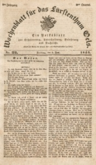 Wochenblatt für das Fürstenthum Oels, 1840, Jg. 7, No. 23