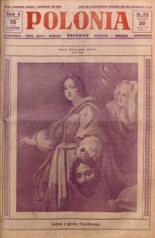 Polonia, 1927, R. 4, nr 29