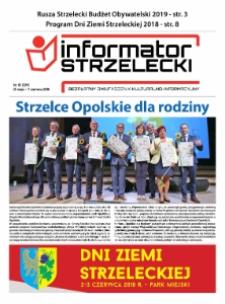 Informator Strzelecki : bezpłatny dwutygodnik kulturalono-informacyjny 2018, nr 10 (224).