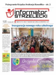 Informator Strzelecki : bezpłatny dwutygodnik kulturalono-informacyjny 2018, nr 17 (231).